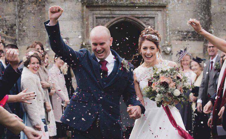 Real wedding: Kat and Simon