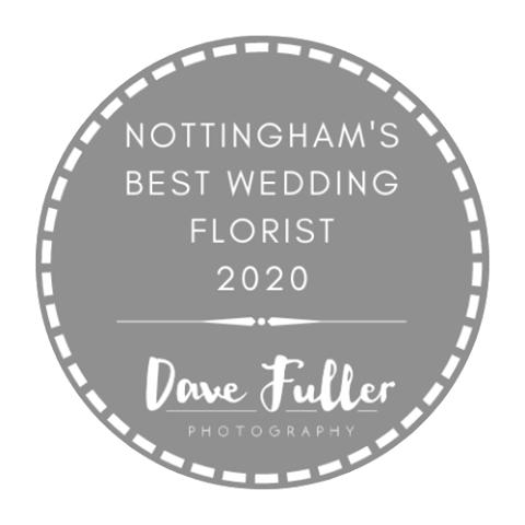 Logo for Nottingham's best wedding florist 2020