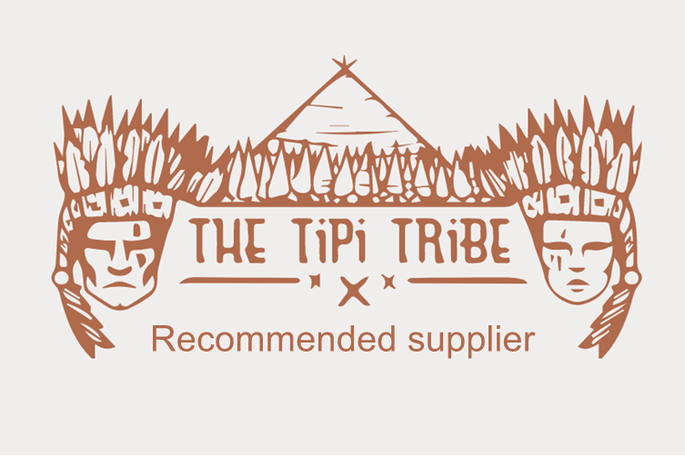 Tipi tribe recommended supplier logo