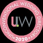 Unconventional Wedding supplier badge